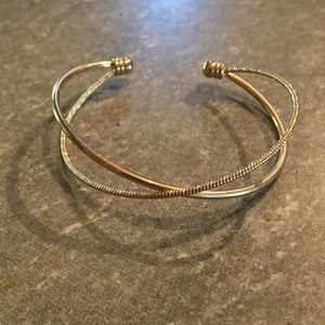 Gold colored bracelet